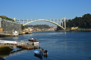 View of bridge in Oporto