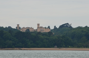 Osbourne house from the water